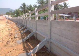 รับสร้างรั้วคอนกรีตสำเร็จรูป JRP