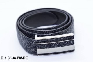 Black Leather Belt B 1 3