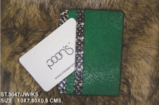 CREDIT CARD FOIL GREEN