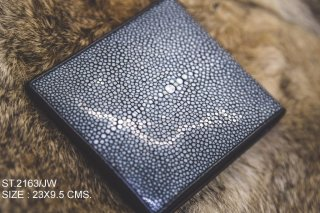 Stingray ray wallet (Single crown)