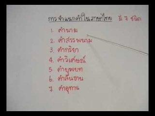 ติวสอบภาษาไทย