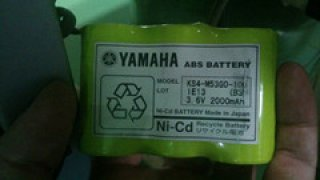 แบตเตอรี่ PLC Yamaha KS4-M530-101 3.6V