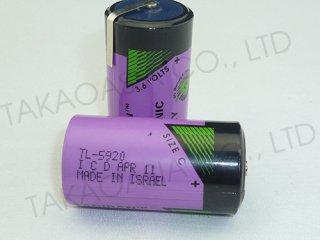 แบตเตอรี่ลิเธียม TADIRAN TL-5920 3.6V C
