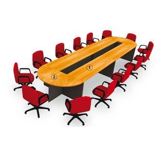 โต๊ะประชุมขนาด 10-12 ที่นั่ง