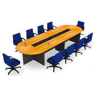 โต๊ะประชุมขนาด 14-18 ที่นั่ง