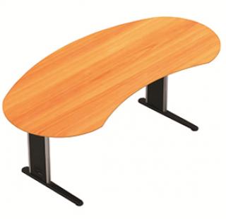 โต๊ะทำงานโค้ง ขนาดยาว 1500