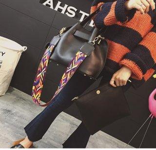 กระเป๋าหนัง สายคัลเลอฟูล TB-038
