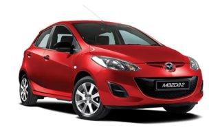 ให้เช่ารถยนต์ Mazda 2