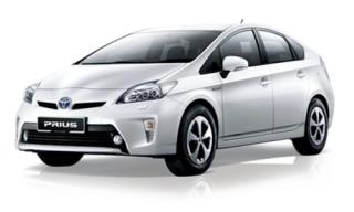 ให้เช่ารถยนต์ Toyota Prius