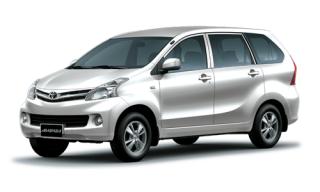 ให้เช่ารถยนต์ Toyota Avanza