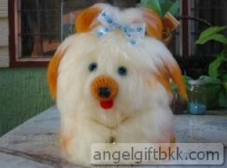 น้องหมาทิชชูสีชมพู