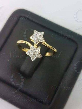 แหวนเพชรรูปดาว