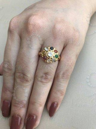 แหวนนพเก้าหางช้าง