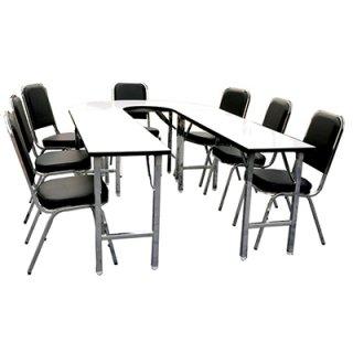 โต๊ะประชุม 7 ที่นั่ง พับได้