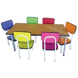โต๊ะอนุบาลหลากสี
