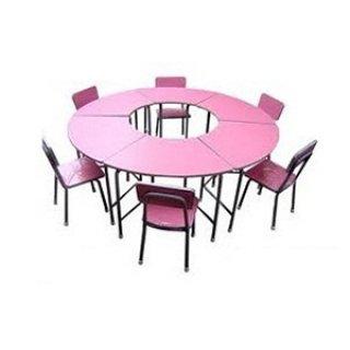ชุดโต๊ะอนุบาล B-06 สีสดใส