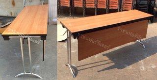 โต๊ะพับขาคู่ ขาแบบโค้ง