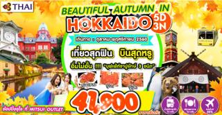 HOK13 BEAUTIFUL AUTUMN IN HOKKAIDO 5D 3N BY TG