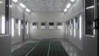 ห้องอบสี ระบบอินฟาเรด MAS-6200A