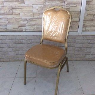 เก้าอี้ทรงราชา ขาคาด A ชุปโครเมี่ยม