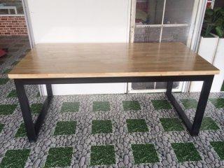 โต๊ะไม้ยางพารา Top หนา 35mm