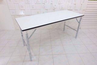 โต๊ะพับอเนกประสงค์ ไม้ปาติเกิ้ลขาวเงา