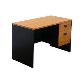 โต๊ะทำงานเมลามีน 2 ลิ้นชัก