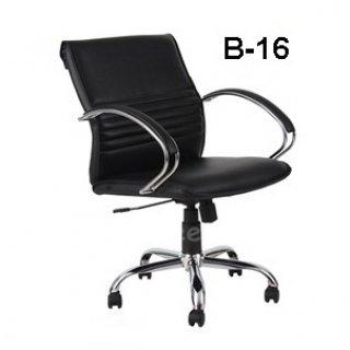 เก้าอี้หัวพับ B-16 ขาเหล็กชุปโครเมี่ยม