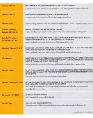 SARNAFAST WASHERIF-IG/C