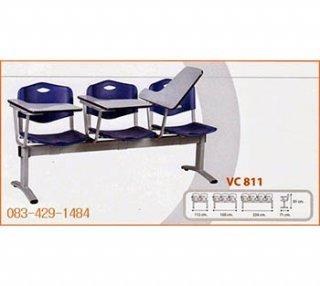 เก้าอี้แถวดิอิเลเว่นขาพ่นสี แบบเปิดขึ้น