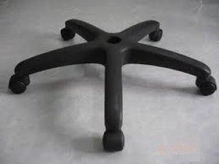 วงล้อเก้าอี้พีวีซี 5 แฉก