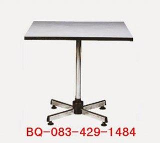 โต๊ะคาเฟ่แฉก หน้าโฟเมก้าสี่เหลี่ยม