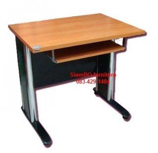 โต๊ะคอมเมลามีน ขนาด60x80x75 ซม
