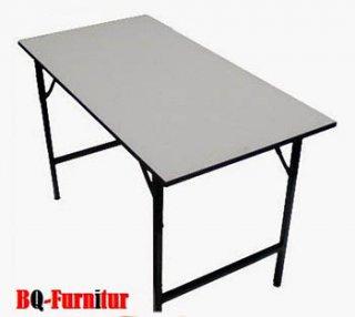 โต๊ะพับอเนกประสงค์ หน้าโฟเมก้าขาดำ