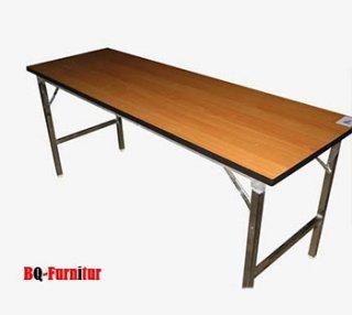 โต๊ะพับอเนกประสงค์ หน้าไม้เมลามีน