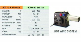 HOT WIND SYSTEM