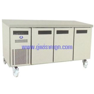 ตู้แช่เคาน์เตอร์สแตนเลส 3 ประตู รุ่น SFC-1806-AR-Freezer