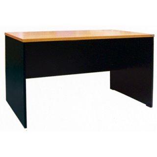โต๊ะทำงานเมลามีน 25 มิล แบบโล่ง