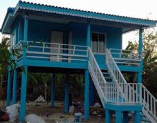 บ้านทรงปั้นหยา พื้นที่ 36 ตารางเมตร