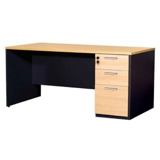 โต๊ะทำงาน 3 ลิ้นชัก รุ่น S008