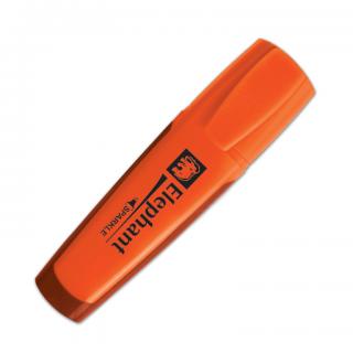 ตราช้างปากกาเน้นข้อความ สปาร์คเกิ้ล สีส้ม