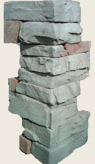 หินเทียมรุ่น Ledgestone เข้ามุม