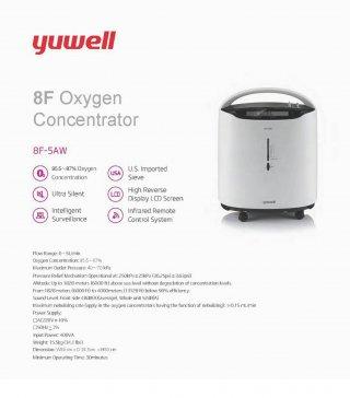 เครื่องผลิตออกซิเจน 8F 5AW