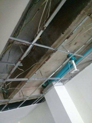 รับแก้ไขปัญหาน้ำซึมฝ้าเพดาน