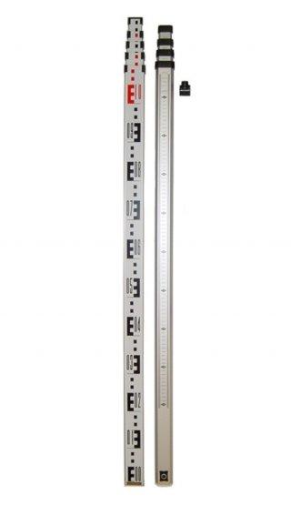 ไม้สต๊าฟอลูมเนียม แบบชัก 5เมตร