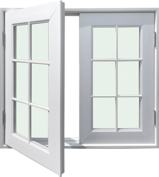 ชุดหน้าต่างบานเปิด รุ่น WD120