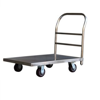 Heavy duty Stainless Steel Platform Trolley, Handlift