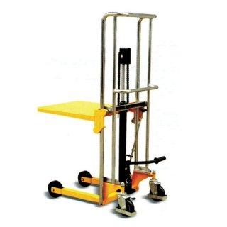 Flat Plate type Hand Hydraulic Stacker 200-400kg