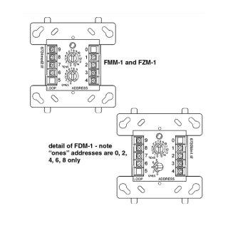 FZM-1CH Addressable
