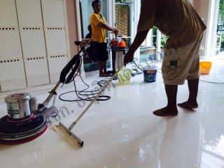 บริการทำความสะอาดพื้น